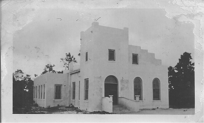 The Niceville Methodist Church building rebuilt in 1926