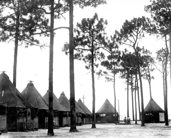 Students Tents at White Point, Niceville