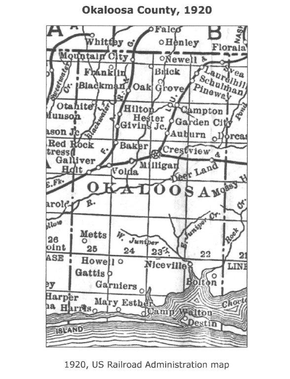 1920 Map Niceville