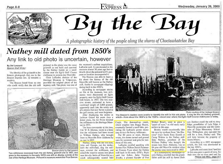 Mill Article BAy Beacon 2000