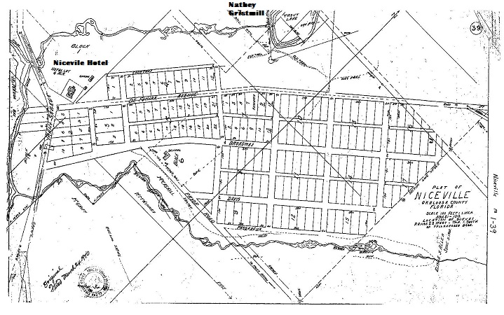 Niceville Plat of 1918