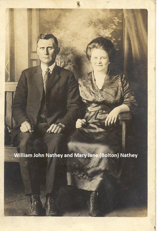 William John and Rebecca Bolton Nathey